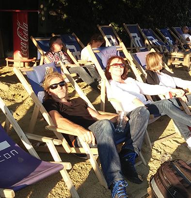 Samen met Fotograaf Rein van der Zee relaxen bij een City Beach in Wenen!